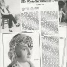 1980 Article/Ad/Pics/Info on Rudolph Valentino Doll