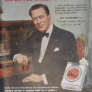 1950 Lucky Strike Cigarettes Ad~Rex Harrison~Scientific