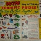 1960s Mickey Mantle N.Y.Yankees Nat'l Youth Sales Club Roadmaster Etc Prizes Ad