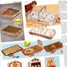 1960s Sports Tabletop Games Ad Pg~Electric Etc Hockey,Car Race,Baseball,Football