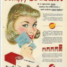 1952 Lucky Strike Cigarette Ad~Be Happy-Go Lucky~Prom