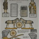 1925 Madisons & Family Carriage Paper Doll Cut Outs Pg