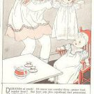 1933 Ad Advertising Pattern for 20s Vintage Effanbee BUBBLES Baby Doll Clothes