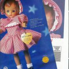 1995 Effanbee Collectors Society Patsy Joan Repro Doll Ad Page/Advertisement