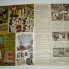 1969 Vintage Ad Pages for Classic Chess Sets/Games~Gothic,Renaissance,Cavalier