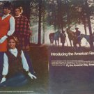 1969 American Airlines Ad~New Stewardess Outfits Modeled~Terlaje~Wertz~Wisnewski