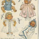 1940s vintage Ad/Advertisement for DYDEE/Dy-Dee Baby Doll Clothes Patterns