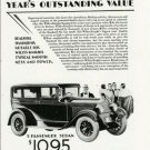 1928 Willys Knight Ad~Prices Listed (Sedan/Coach etc)