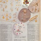1981 Vintage Holly Hobbie Jewelry (Bracelet,Pendant,Earrings) Catalog Ad Page