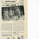 1941 Schwinn-Built Bicycles Guaranteed for Life Ad~40s