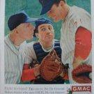 '61 GMAC Payment Plan Ad~Baseball Coach/Pitcher/Catcher