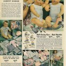 1940s Vintage Catalog Ad/Advertisement for Effanbee DY-DEE/DYDEE Baby Doll~1941