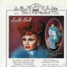 1995 Vintage Lucille Ball Doll Ad ~ The Doll Market
