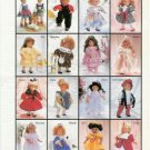 1995 Lissi Doll Family  Ad ~ 16 Cute Dolls Pictured