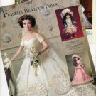 1997 Franklin Heirloom Jackie Kennedy Bride Doll Ad Page/Advertisement