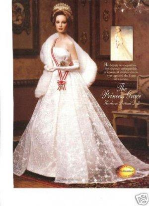 1995 Princess Grace Heirloom Portrait Doll Ad