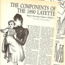 Article/Info on Antique/1890 Doll Layette/Clothes
