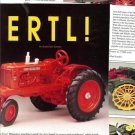Article/Pics/Info on ERTL Farm Toys~Miniature Machines Made for Tiny Hands