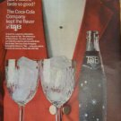 60s Coca-Cola TAB Beverage/Soft Drink/Soda Print Ad~Red Sport Coat~White Bow Tie
