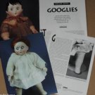 Article/Pics/Info on GOOGLIES/GOOGLY Bisque Dolls