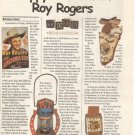 Article/Info~Happy Trails with Roy Rogers~King of Cowboys~Pics of Collectibles