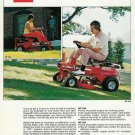 1976 Massey Ferguson/MF Riding Lawn Mowers 626/832 Ad w/Specs & Dimensions