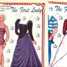 Barbara Bush Inaugural Ball Gown Paper Doll and Pattern