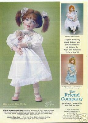 Helen Kish Marley/Amanda/Abigail/Bethany Dolls Ad