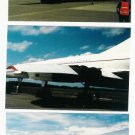 British Airways Concorde Plane Color Photos~Duluth MN