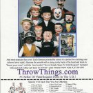 Famous Celebrity Ventriloquist/Talking Puppets/Dummy Ad~Howdy,Groucho,Charlie,+