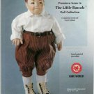 Hamilton Collection Little Rascals SPANKY Doll Ad