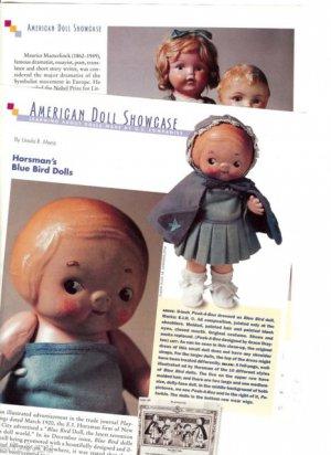 Interesting Article/Pics/Information on Old Horsman Bluebird/Blue Bird Dolls