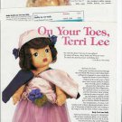 Interesting Article/Pictures/Info on 1950s Doll~On Your Toes,Terri Lee