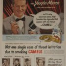 1950 Camel Cigarette Ad~Vaughn Monroe Singer Band Leader~My Voice is My Living!