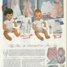 1953 Vintage American Character TINY TEARS Doll/Accessories Catalog Ad Pg~1950s