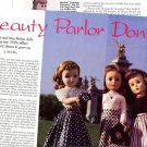 Article/Pics/Info on 1950s Vintage A.C.Toni and Ideal Miss Revlon Fashion Dolls