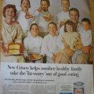 1960s Ad~John Jenkins Family of Glenview IL Illinois