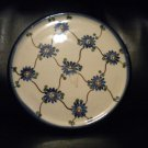 AUTHENTIC POLISH POTTERY SM HOT PLATE..MUST LOOK@@@BEAUTIFUL PIECE