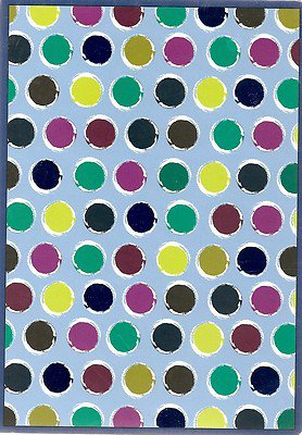 NEW Lined Painter's Polka Dot Journal or Diary - 2012 Edition!
