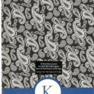 "NEW Lined Blue Patterned ""K"" Journal or Diary - Special Price!"