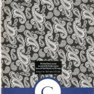 "NEW Lined Blue Patterned ""C"" Journal or Diary - Special Price!"
