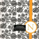 """NEW Lined Yellow Stripe """"N"""" Journal or Diary - Special Price!"""