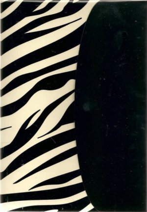 NEW Lined HUGE Zebra Print Journal or Diary - 2012 Edition!