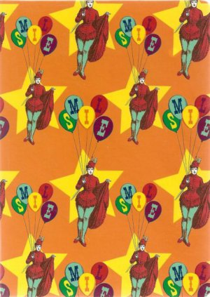 NEW Lined Circus Smile Lady With Balloons Journal or Diary - 2012 Edition!