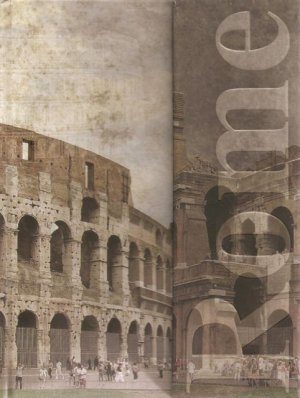 NEW Lined Rome Fold Out Journal or Diary