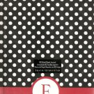 "NEW Lined Polka Dot Red ""F"" Journal or Diary - Special Price!"