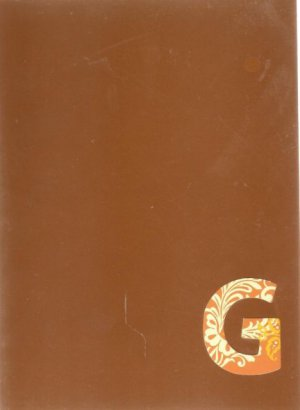"""NEW Lined Fall Brown """"G"""" Journal or Diary"""