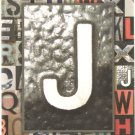 "NEW Lined Metal ""J"" Journal or Diary - 2012 Edition!"