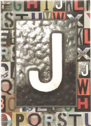 """NEW Lined Metal """"J"""" Journal or Diary - 2012 Edition!"""