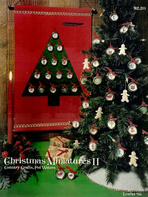 Christmas Miniatures II Cross Stitch Pamphlet